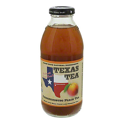 Texas Tea Texas Tea Fredericksburg Peach Tea,16 oz