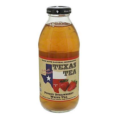 Texas Tea Texas Tea Poteet Strawberry White Tea,16 oz