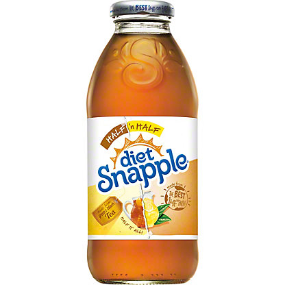 Snapple Half N Half Diet Lemonade Tea 16 Oz Central Market