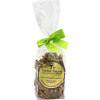 TOFFEE TREATS Milk Chocolate Almond Toffee,8 OZ