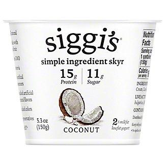 Siggi's Strained Low-Fat Icelandic Style Cream-Skyr Coconut Yogurt,5.3 OZ