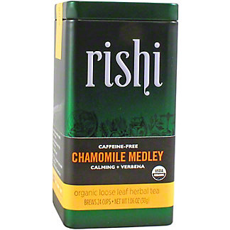 Rishi Organic Loose Leaf Chamomile Medley Herbal Tea, 1.06 oz