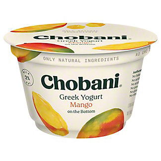 Chobani Low-Fat Mango on the Bottom Greek Yogurt,5.3 oz