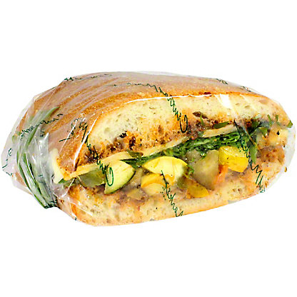 Chef Prepared Grilled Vegetable & Provolone Sandwich, ea
