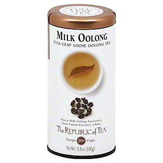 The Republic of Tea Milk Oolong Full Leaf Loose, 3.5 oz