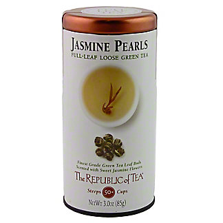 The Republic of Tea Full Leaf Jasmine Pearls, 3 OZ