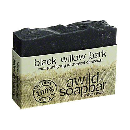 A Wild Soap Bar Black Willow Bark Bar Soap,3.5 OZ
