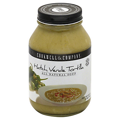 Cookwell & Company Hatch Verde Tortilla Soup, 32 oz