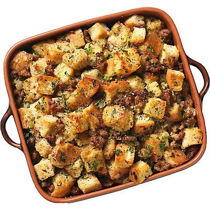 Italian Sausage Bread Stuffing, Serves 6-8