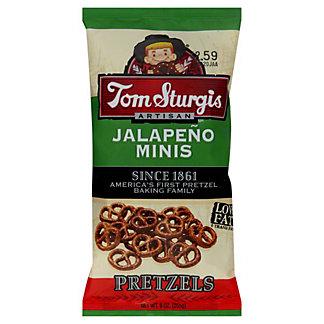 Tom Sturgis Jalapeno Minis Pretzels,9 OZ