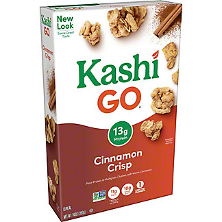 Kashi GoLean Crisp! Cinnamon Crumble Cereal, 14 oz