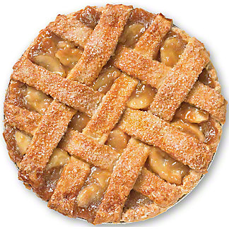 Central Market Salted Caramel Apple Pie, 10 in, Serves 8-10
