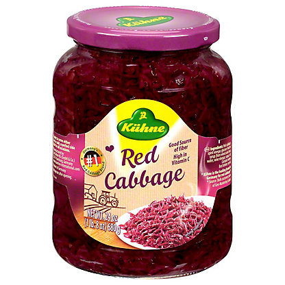 Kuhne Prepared Red Cabbage,24 OZ