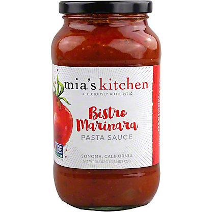 Mia's Kitchen Bistro Marinara Pasta Sauce,25.5 oz