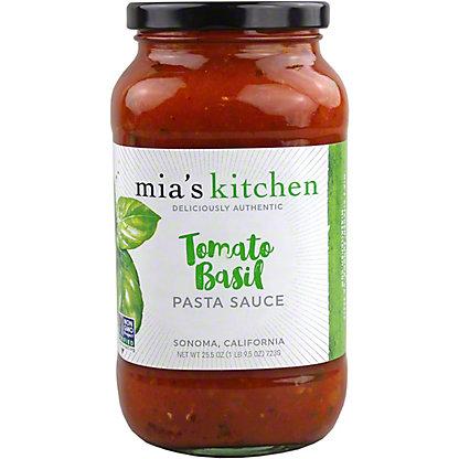 Mia's Kitchen Tomato and Basil Pasta Sauce, 25.50 oz