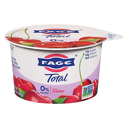 Fage Total 0% Cherry Greek Yogurt,5.3 oz