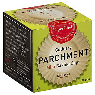 PaperChef Culinary Parchment Mini Baking Cups,90 CT