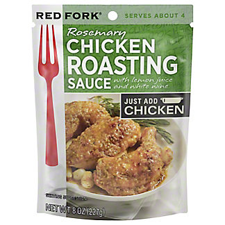 Red Fork Rosemary Chicken Seasoning Sauce, 8 oz