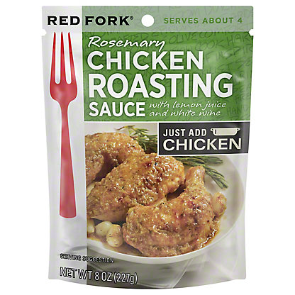 Red Fork Rosemary Chicken Seasoning Sauce, 8 oz