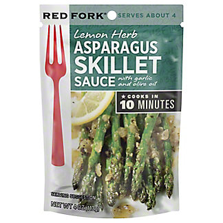 Red Fork Lemon Herb Asparagus Seasoning Sauce,4 OZ