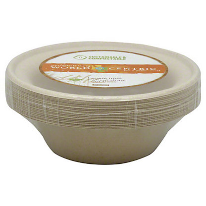 World Centric Wheat Straw Bowls 20 CT,20 CT