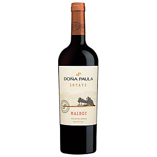 Dona Paula Estate Malbec, 750 mL