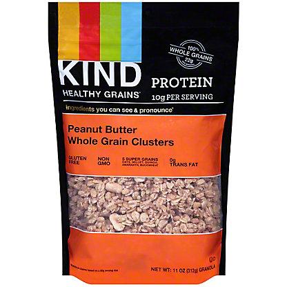Kind Healthy Grains Peanut Butter Whole Grain Clusters, 11 oz