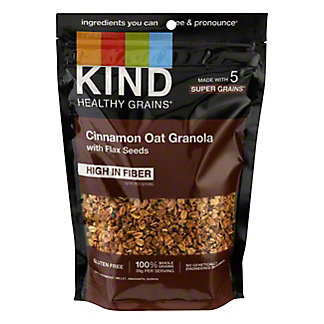 Kind Healthy Grains Cinnamon Oat Clusters With Flax Seeds, 11 oz