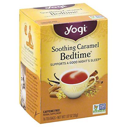 Yogi Soothing Caramel Bedtime Tea Bags, 16 ct