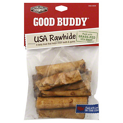 Castor & Pollux Good Buddy USA Rawhide Chicken Flavored Rolls 2 Inch Dog Chews, EACH