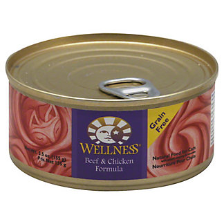 Wellness Beef & Chicken Cat Food,5.5 OZ