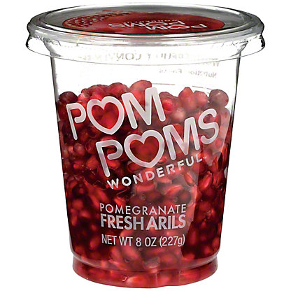 Pom Wonderful Fresh Pomegranates Arils, Ready to Eat, 8 oz