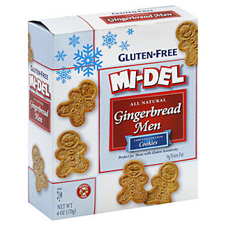 Mi-Del Gingerbread Men Cookies, 6.00 oz
