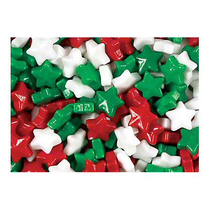 Christmas Star Candies, lb