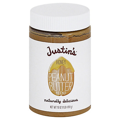 Justin's Natural Honey Peanut Butter,16 OZ