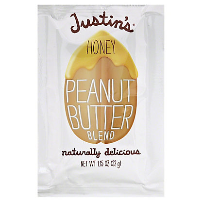 Justin's Honey Peanut Butter Blend Squeeze Pack, 1.15 oz