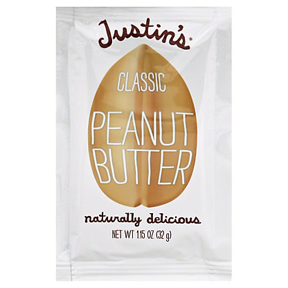 Justin's Classic Peanut Butter Squeeze Pack, 1.15 oz