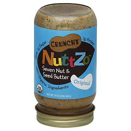 NuttZo Crunchy Seven Nut and seed butter,16.00 oz