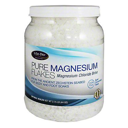 Life Flo Pure Magnesium Flakes, 44 oz