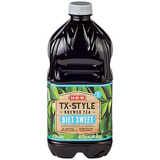 H-E-B Diet Texas Style Sweet Tea,64 OZ