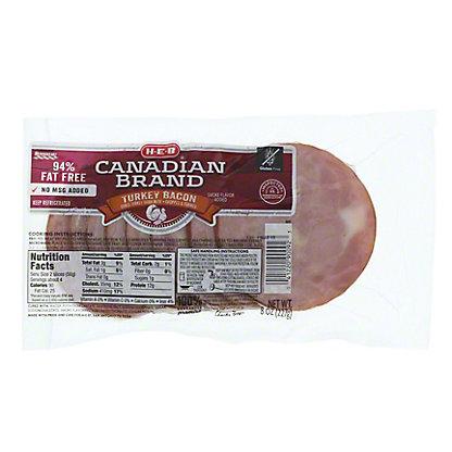 H-E-B Turkey Bacon,8 OZ