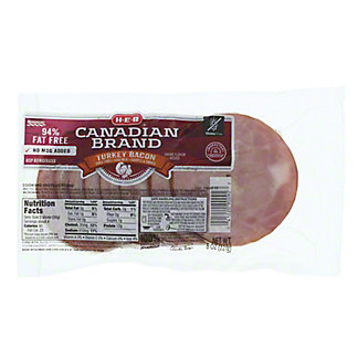 H-E-B Turkey Bacon,8 OZ