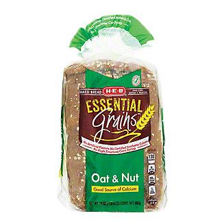 H-E-B Essential Grains Oat & Nut Bread,24 OZ
