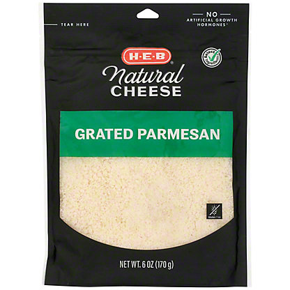 H-E-B Parmesan Fresh Grated Cheese,6 OZ