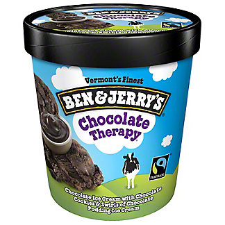 Ben & Jerry's Chocolate Therapy Ice Cream,ONE PINT