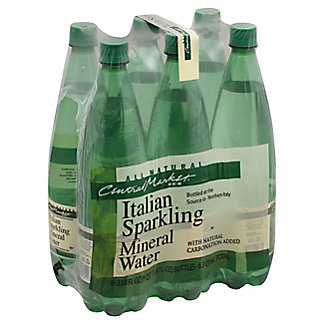 Central Market All Natural Sparkling Water, 6 pk, 33.8 oz