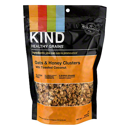 Kind Healthy Grains Oats and Honey Clusters with Toasted Coconut, 11 oz