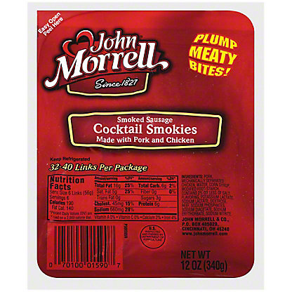 John Morrell Lil Cocktail Smokies, 12OZ