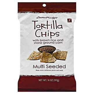 Central Market Multi Seeded Tortilla Chips, 14 oz