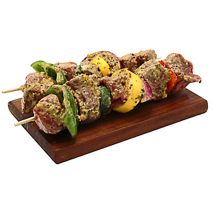 Central Market Chipotle Lime Marinated Beef Kabob